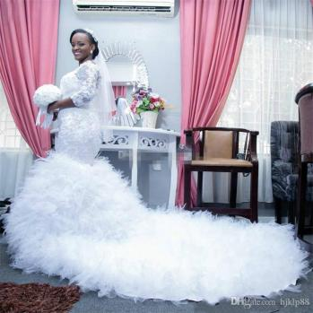 Image result for nigerian articles on wedding dress for plus size