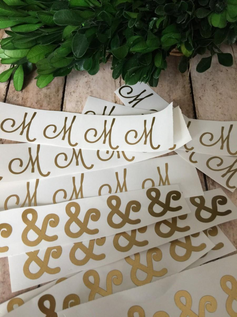 wedding stickers for invitations%0A Single Initial Invitation Envelope Sticker Personalized Wedding