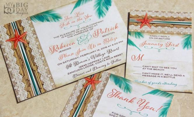 New Two Less Fish In The Sea Tropical Destination Wedding