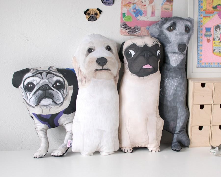 custom pet pillow portrait cushion fun gift for a dog cat rabbit owner 2636413 weddbook