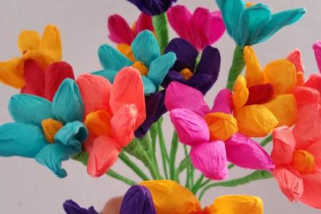 Mexican paper flowers top artist of the year 2018 top artist of and photo booth paper flower backdrop crafty flowers day one mexican tissue paper flowers pink mexican tissue paper flowers mexican tissue paper flowers mightylinksfo