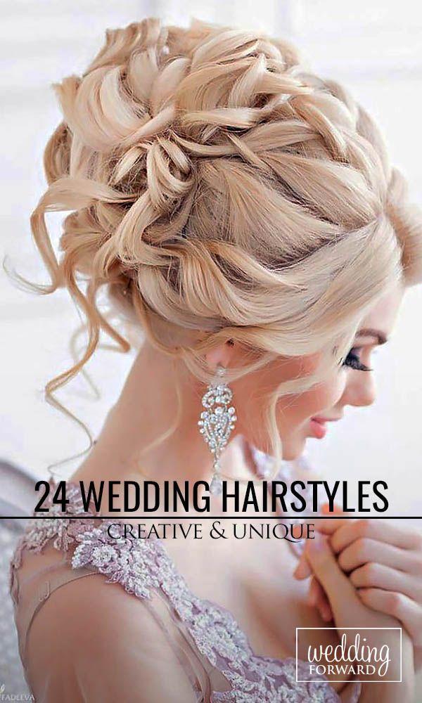 18 creative unique wedding hairstyles