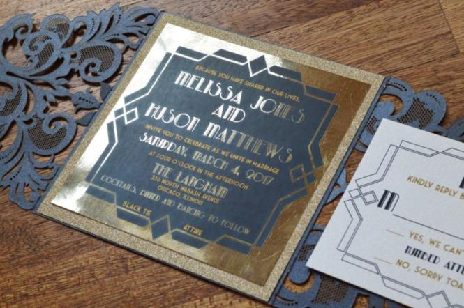 Great Gatsby Invitation Wedding