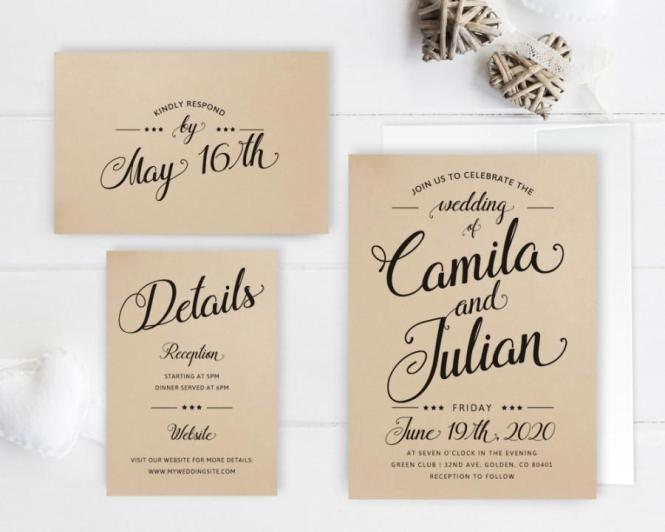 Invitation Wedding Packages 2692930