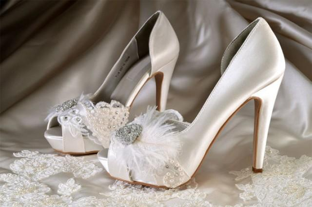 Womens Wedding Shoes Custom Colors 220 Silk Satin 4