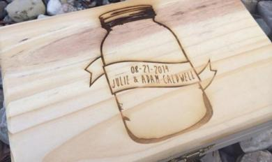 Plain Wooden Box Wedding Card Wooden Thing