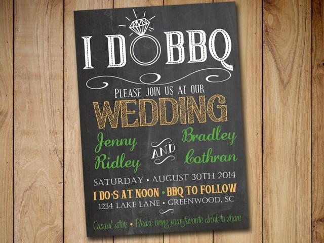 Rustic Wedding Invitation Templates