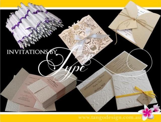 Sample Pack Wedding Invitations Rsvp Cards Metallic
