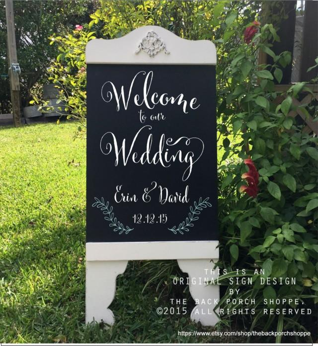 Standing Welcome Porch Signs