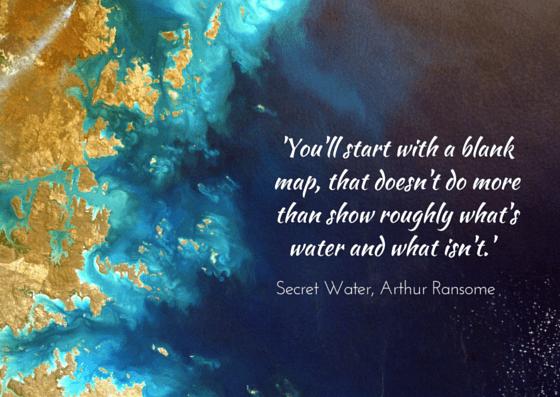 Arthur Ransome, Secret Water - image by NASA, unsplash.com
