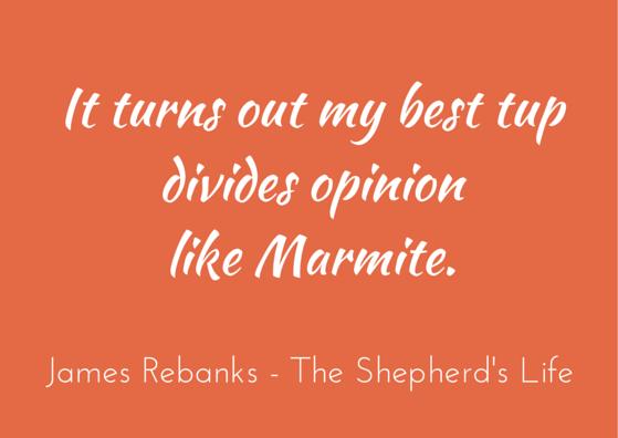 Quotation - James Rebanks - The Shepherd's Life