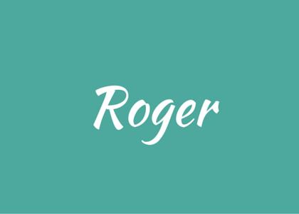 words - Roger
