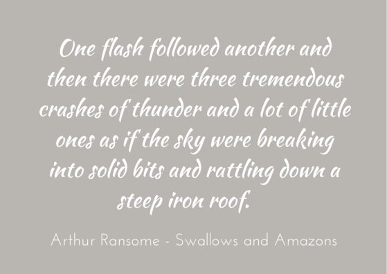Quotation - Arthur Ransome - Swallows and Amazons