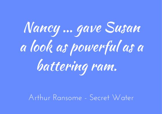 Quotation - Arthur Ransome - Secret Water