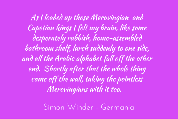Quotation - Simon Winder - Germania