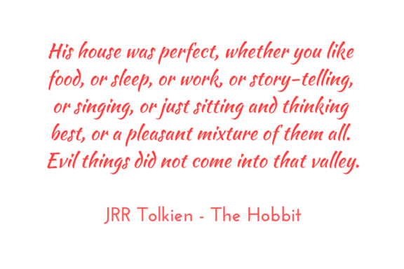 Tolkien Hobbit quote