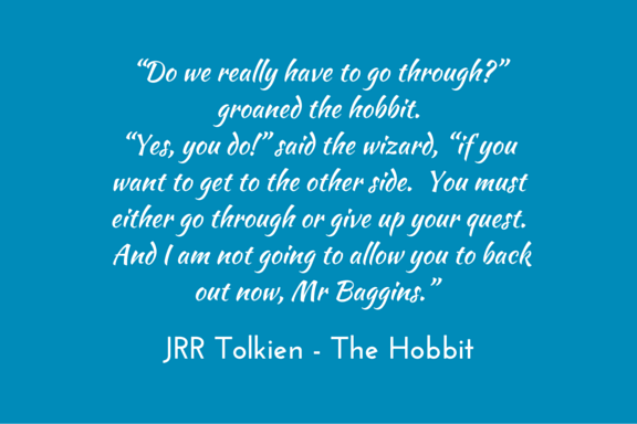 Tolkien, Hobbit, quests