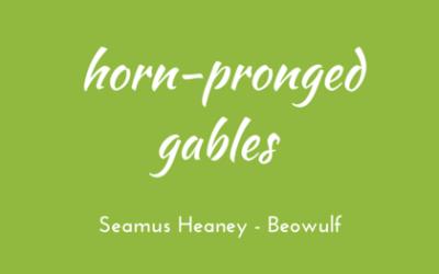 Horn-pronged gables