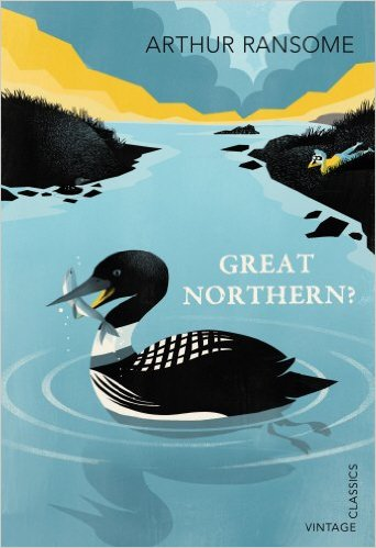 Arthur Ransome, Great Northern, Vintage Classics book cover illustration by Pietari Posti