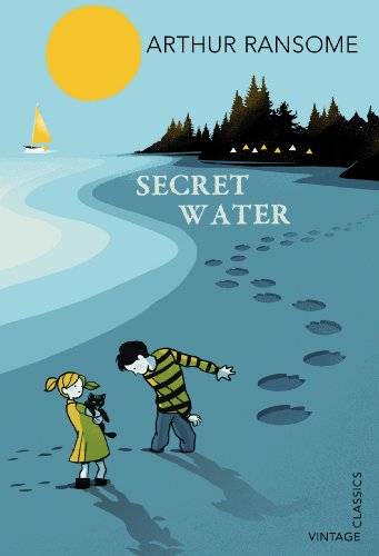 Arthur Ransome's Secret Water, cover illustration by Pietari Posti for Vintage Classics