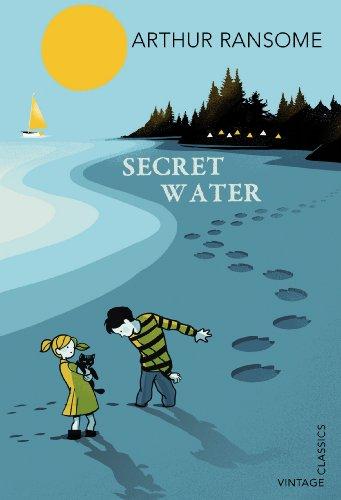 Arthur Ransome's Secret Water, cover illustration by Pietari Posti for Vintage Classics