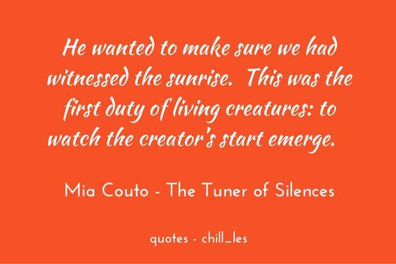 Mia Couto - Tuner of Silences (Jesusalém)