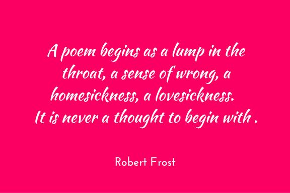 Robert Frost on poetry