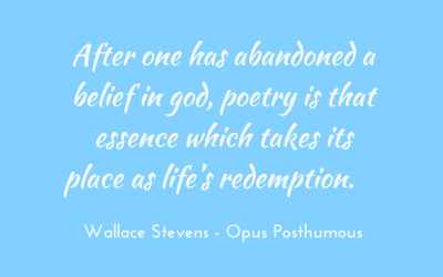 Poetry as redemption