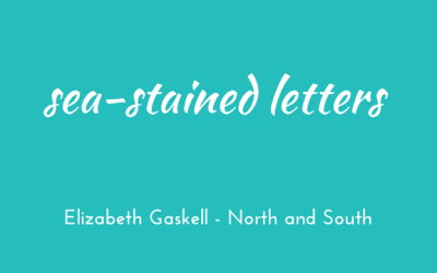 Sea-stained letters