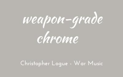 Modern weapons meet ancient war