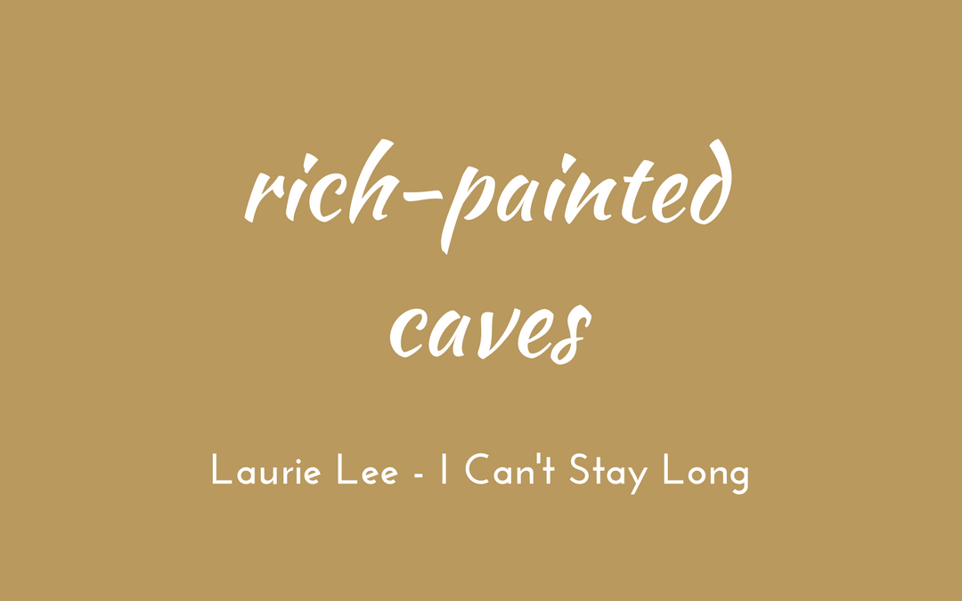 Laurie Lee - I Can't Stay Long