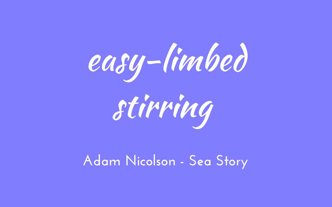 Adam Nicolson - Sea Room - easy-limbed stirring