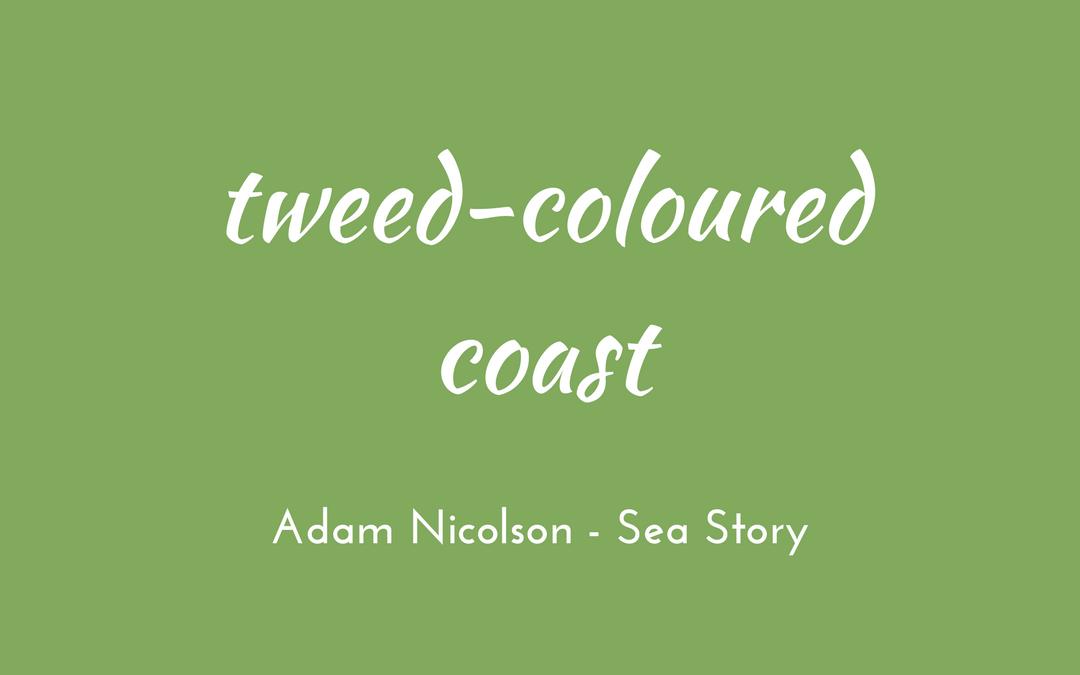 Adam Nicolson - Sea Room - tweed-coloured coast