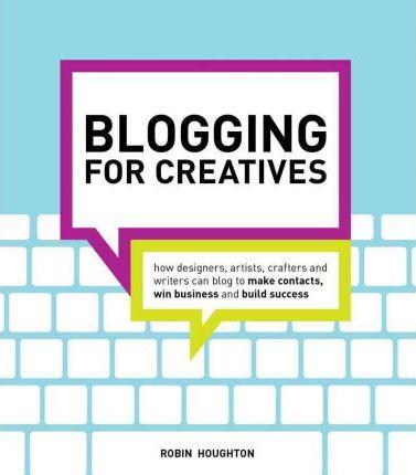 Book cover - Houghton Blogging for Creatives