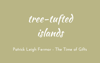 Tree-tufted islands