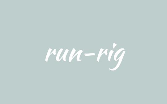 word - Scottish - run-rig