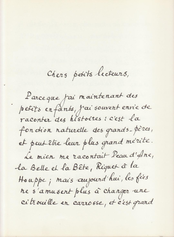 Author preface - Souvenirs d'Enfance de Marcel Pagnol, Marcel Pagnol, illus. Suzanne Ballivet