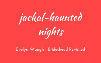 Jackal-haunted nights