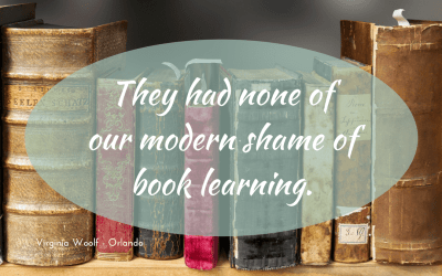On the Elizabethans and book learning