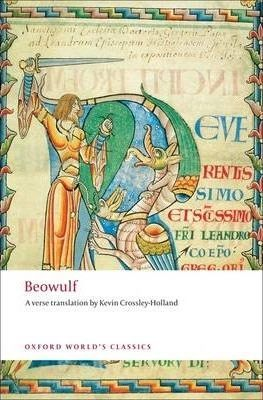Cover - Crossley-Holland Beowulf front cover Oxford World Classics