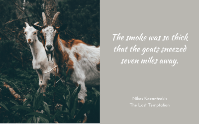Of smoke and goats