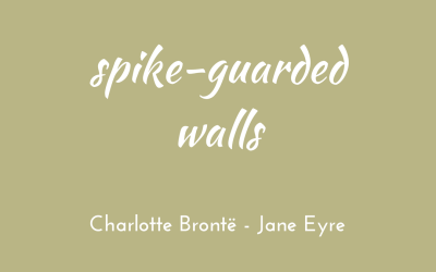 Spike-guarded walls