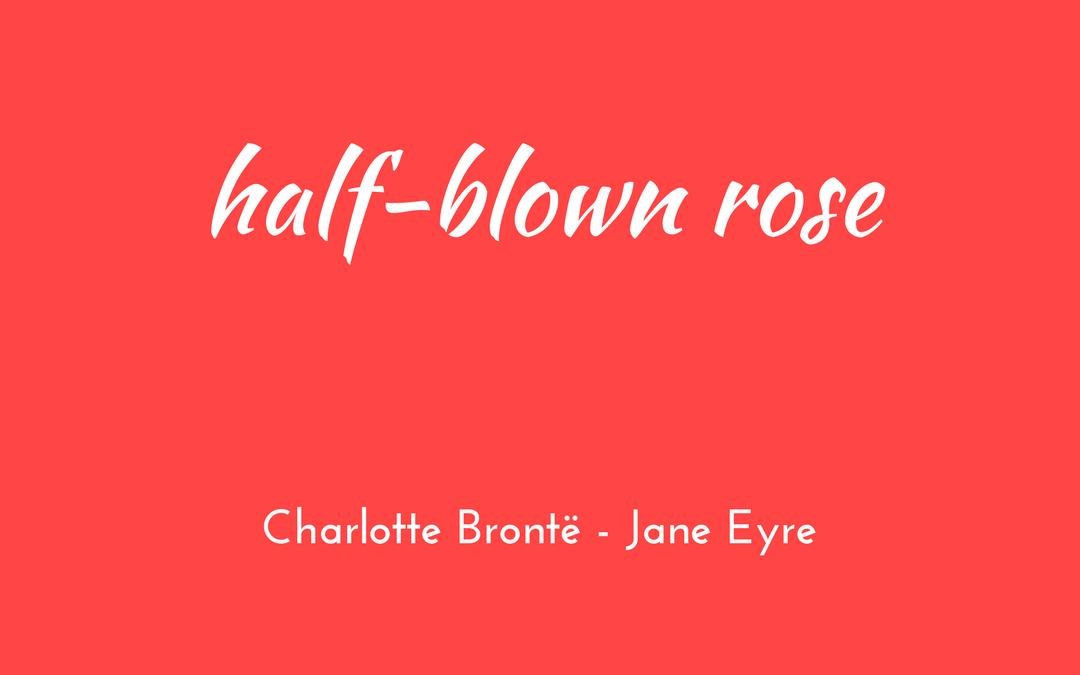 Charlotte Bronte - Jane Eyre - triologism
