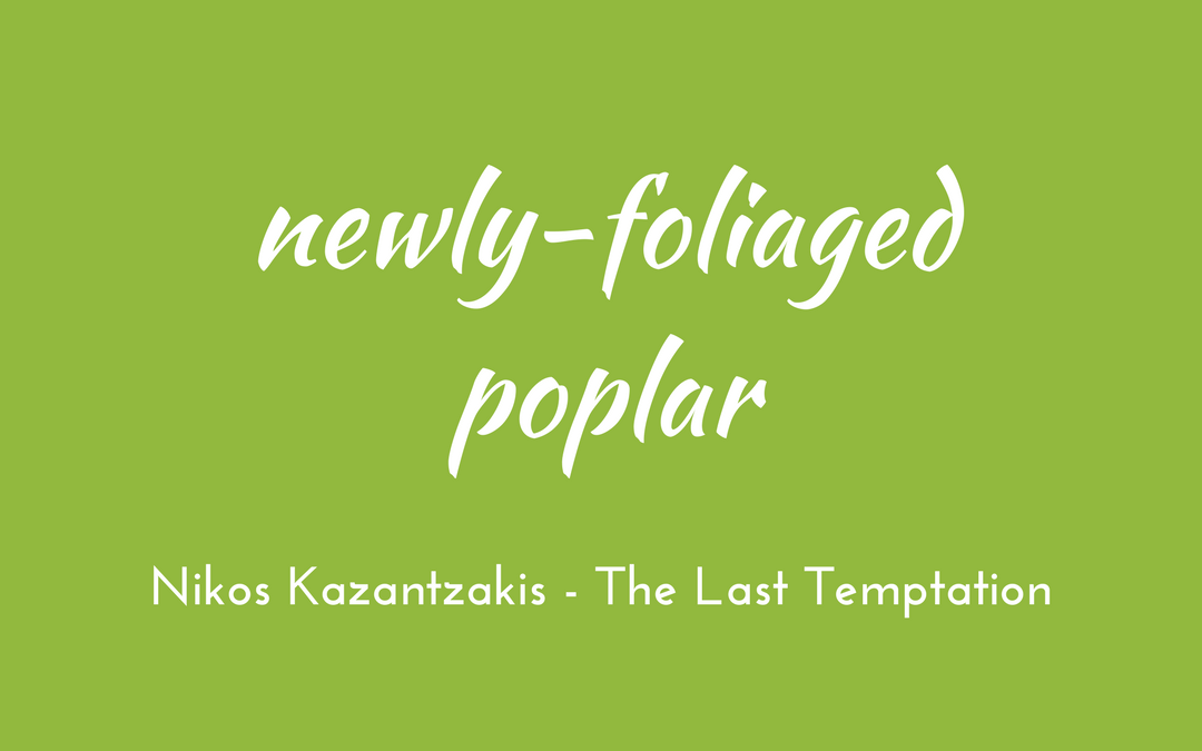 Kazantzakis - The Last Temptation - triologism
