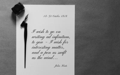 Keats' correspondence