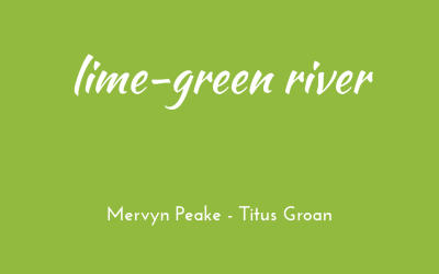 Lime-green river