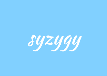 words - syzygy