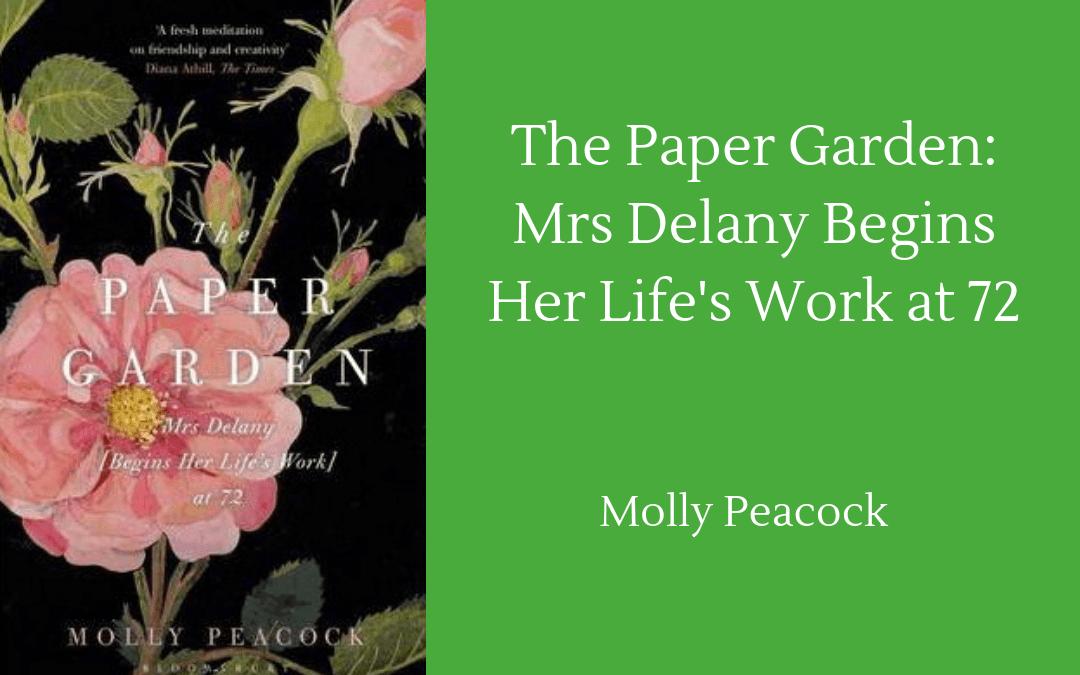 Book cover - Molly Peacock Paper Garden