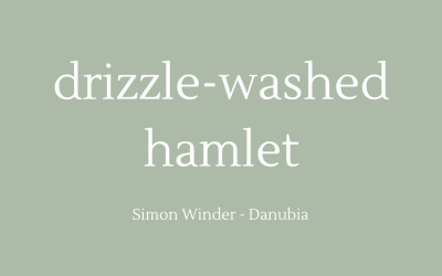 Drizzle-washed hamlet