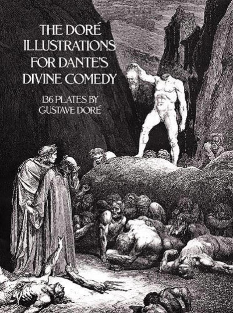 Cover - Dante, The Divine Comedy, illus. Gustave Doré